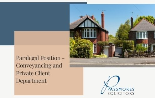 Paralegal Position